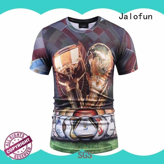 Jalofun Wholesale customized shirts manufacturers for class uniform