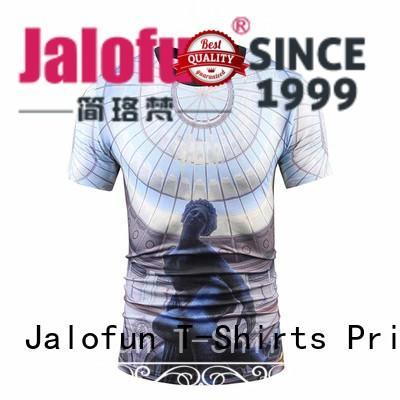Jalofun unique design cotton t shirt shirtst for sport