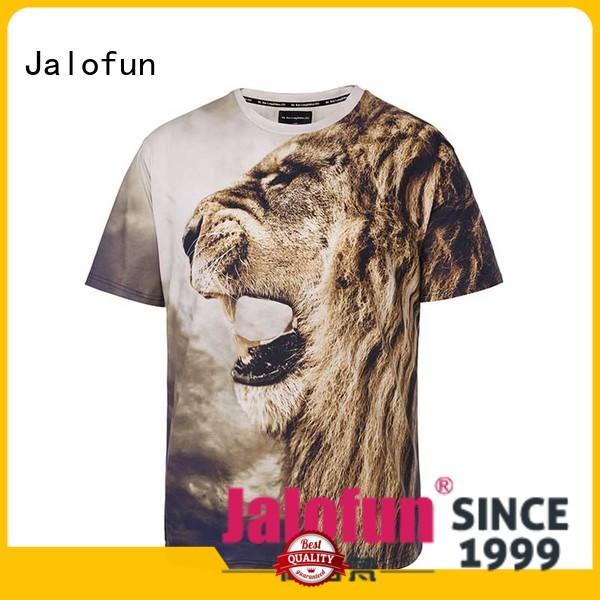 neck promotion tee shirt printing screen Jalofun