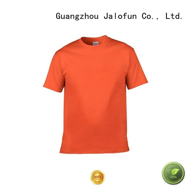 Jalofun stylish design custom logo t shirt China Factory for sport