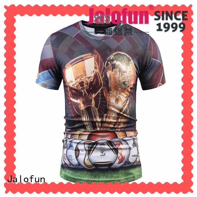 Jalofun good cutting direct to garment printing t shirt supply
