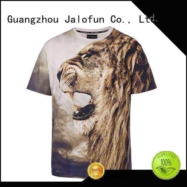 Jalofun high quality customized tee shirts factory for sport