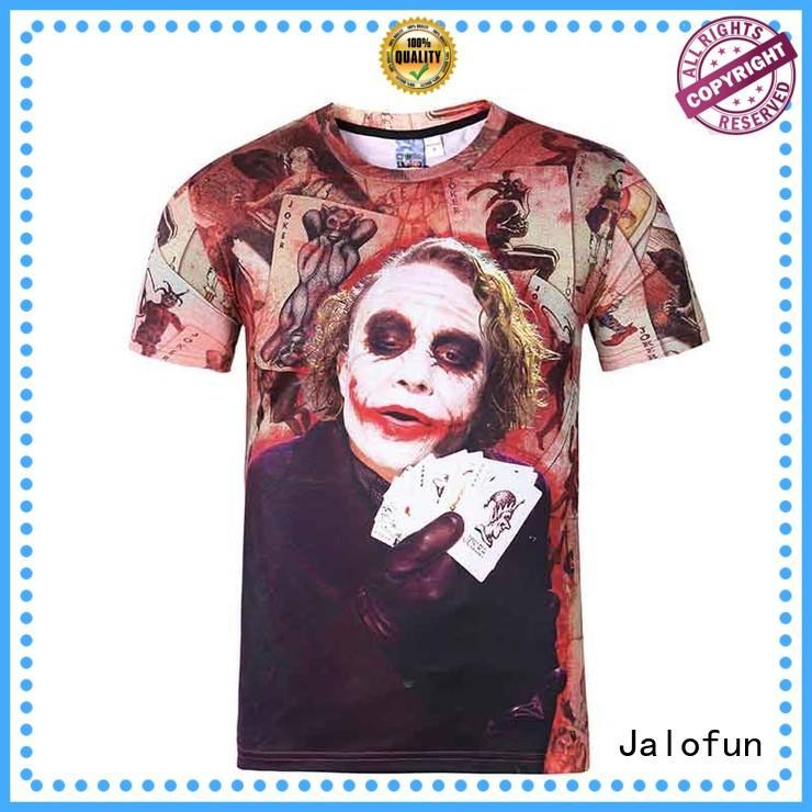 factory price silk screen tee shirt printing China Factory for leisure time Jalofun