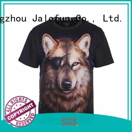 Sublimation Tee Shirt with Custom Logo Printed Shirt