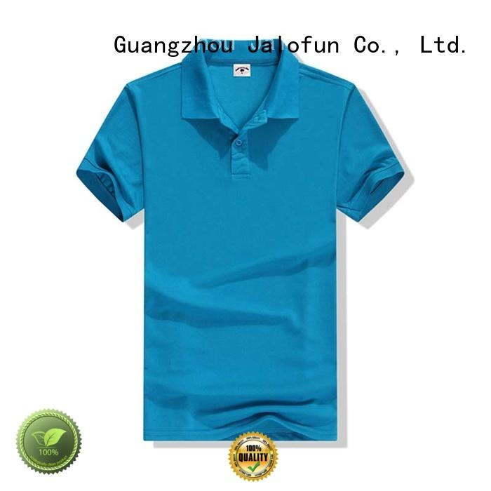 Jalofun plain cotton polo shirts suppliers for outdoor activities