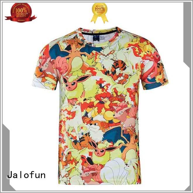 Jalofun polyester cheap t shirt design by Chinese manufaturer for travel