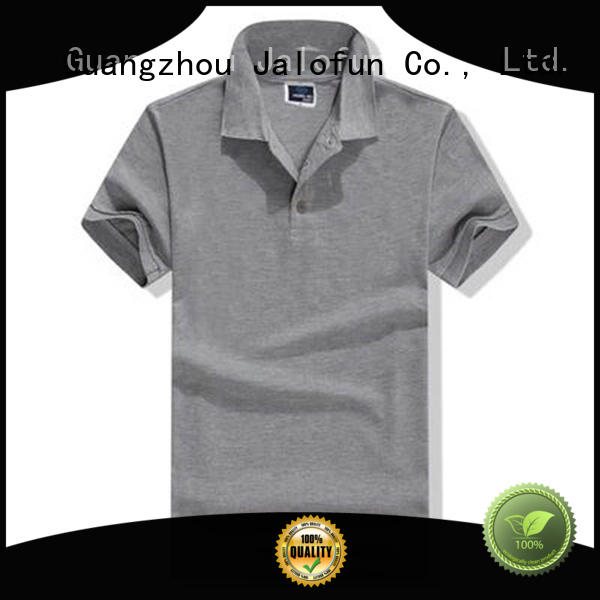 Jalofun lightweight custom polo shirt factory