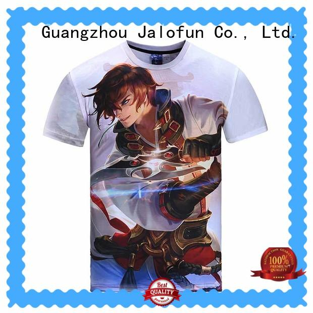 Jalofun casual cotton t shirt suppliers for going to school