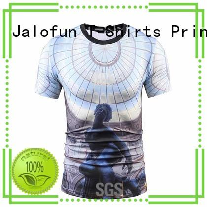 Jalofun charming custom prints shirts supply for leisure time