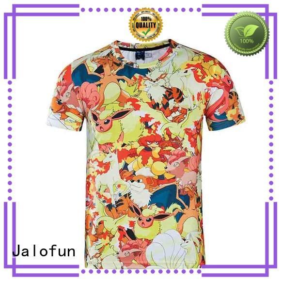 Jalofun Best custom prints shirts factory for work clothes