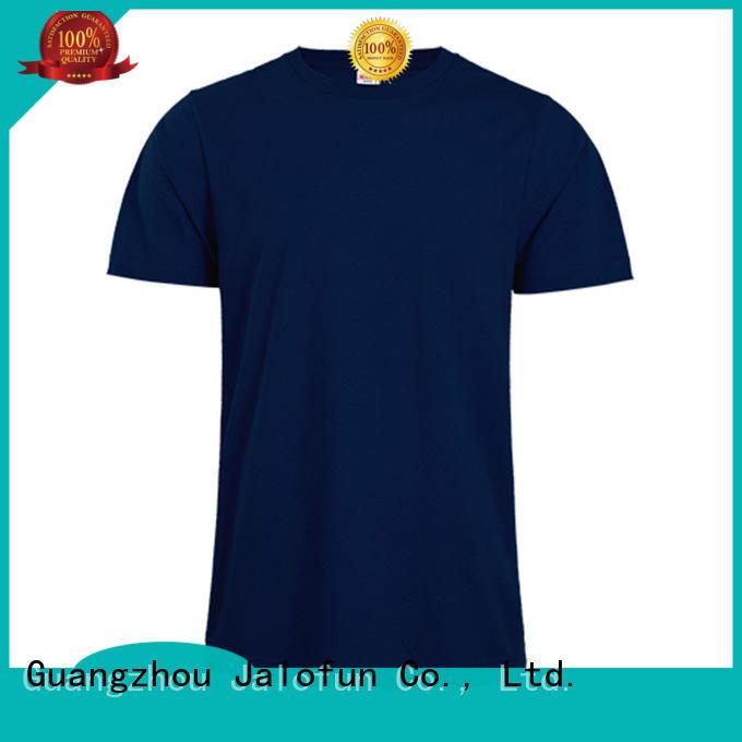 Jalofun logo silk screen printing t shirt suppliers for going to school