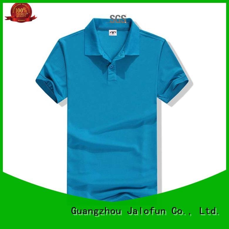 Jalofun quality pique polo shirt supply for summer