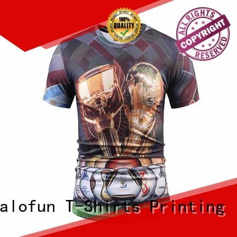 Jalofun Custom sublimation printing t shirt suppliers for dating