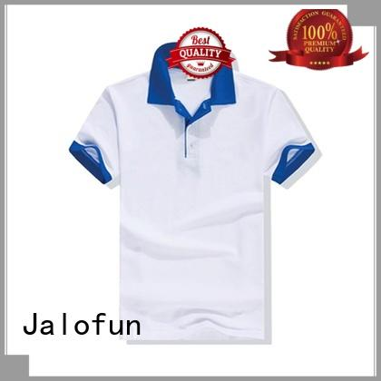 custom logo pique polo sleeve for business for going to school