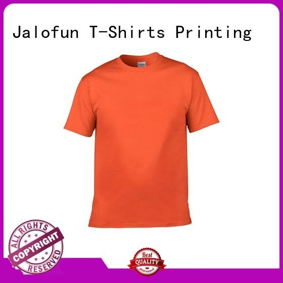 tshirt custom embroidered t shirts tee for work Jalofun