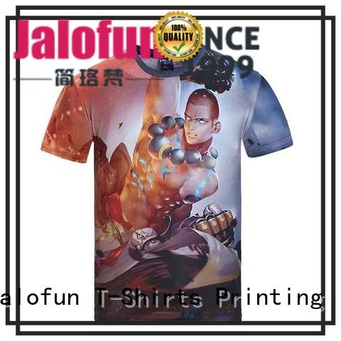 gildan sublimation neck plain sublimation t shirt Jalofun Brand