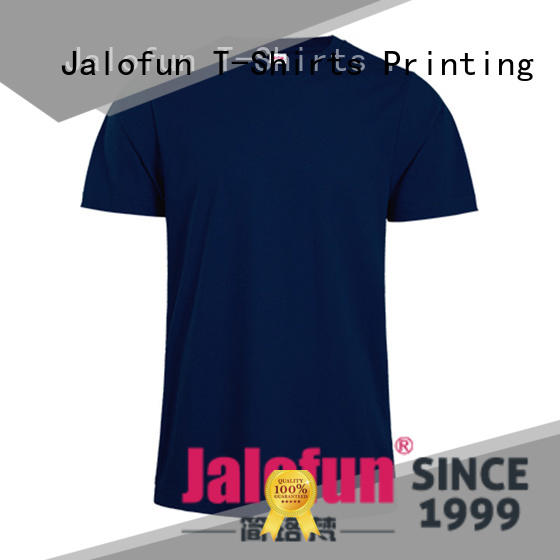 Jalofun O neck custom printing campaign t shirt gildan for travel