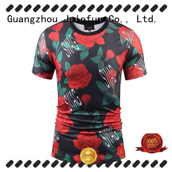 Jalofun casual cotton t shirt for sale for summer