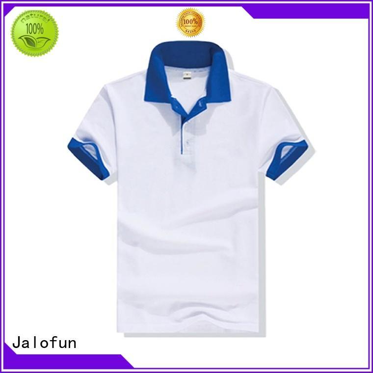 Jalofun unisex pique polo suppliers for going to school