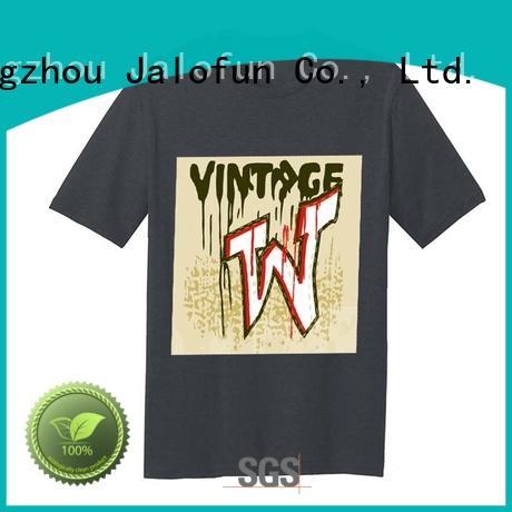 Jalofun New silk screen printing t shirt manufacturers for sport