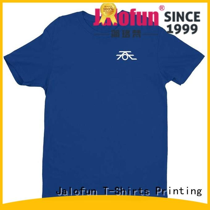 Jalofun screen customized shirts for business for class uniform