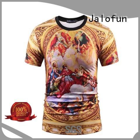 Jalofun shirts customized tee shirts manufacturers for work
