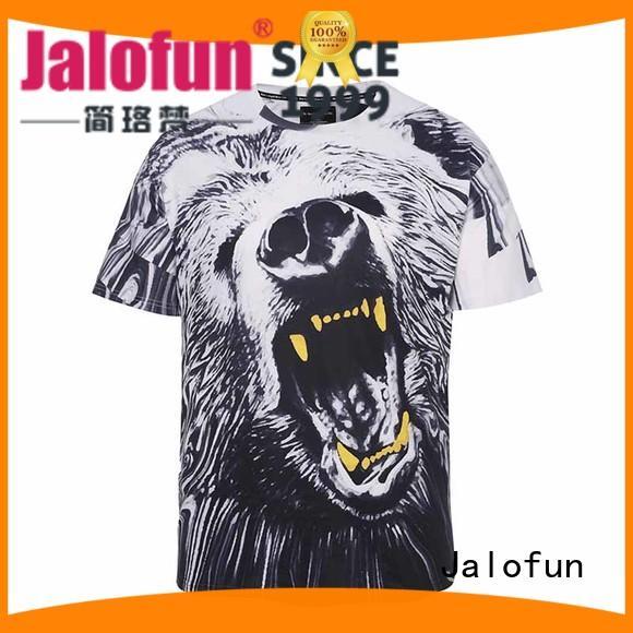 Jalofun Top silk screen printing t shirt for business for sport