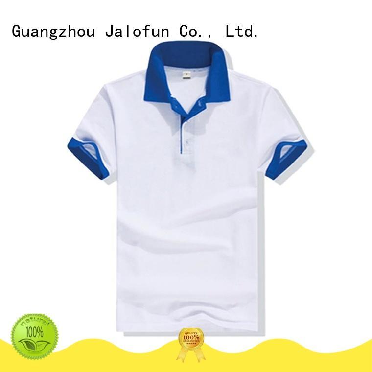 custom logo pique polo top factory for class uniform