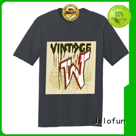 Jalofun gildan custom tee shirt printing factory for sport