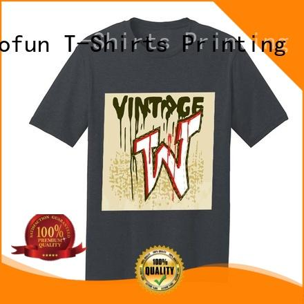 Jalofun made silk screen shirt printing free design for sport