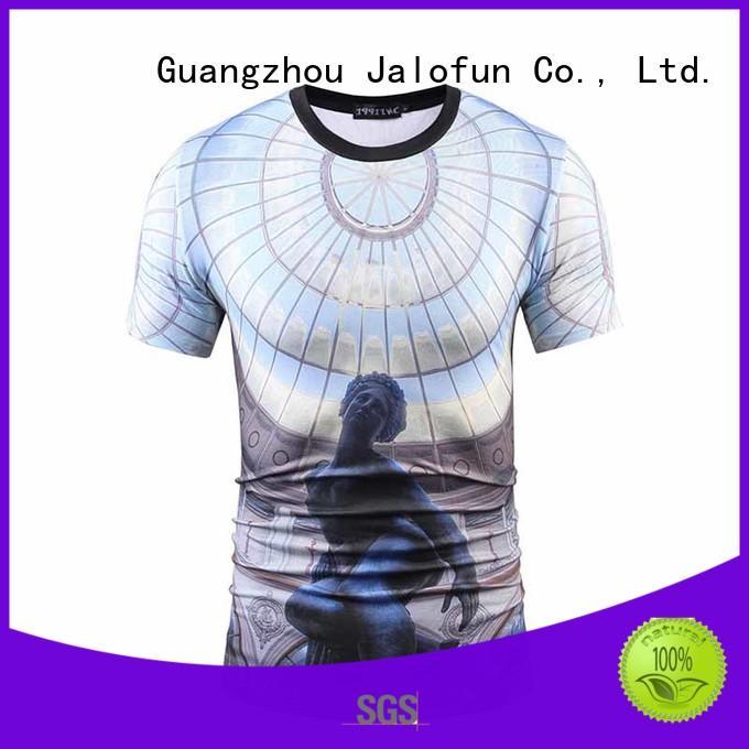 Jalofun new arrival cotton t shirt factory