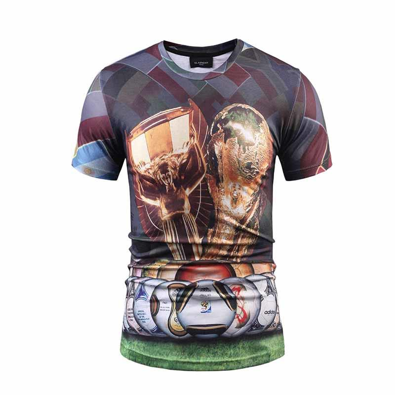 Cheap Custom Screen Print Shirts with Logo/ Sublimation T Shirts-3