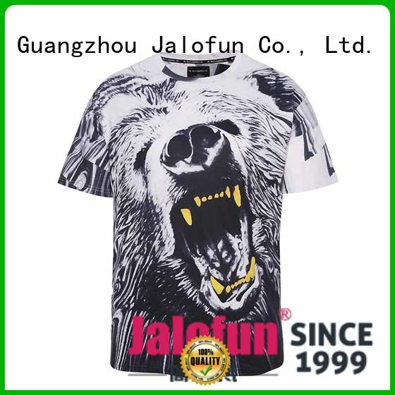 Jalofun shirtst cotton t shirt company for work clothes