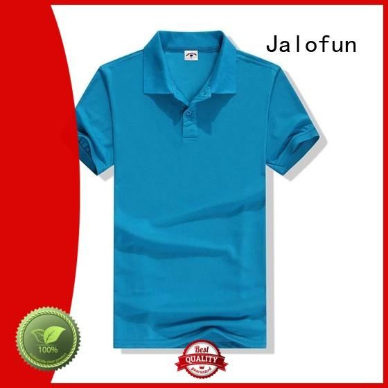 Jalofun high-quality cotton polo shirts factory price for sport