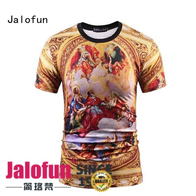 print cool shirt designs from manufacturer for class uniform Jalofun