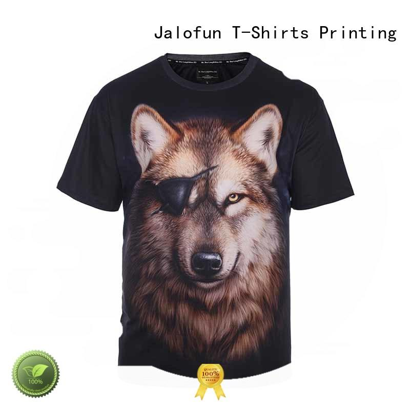 Jalofun polyester customized tee shirts for business for dating