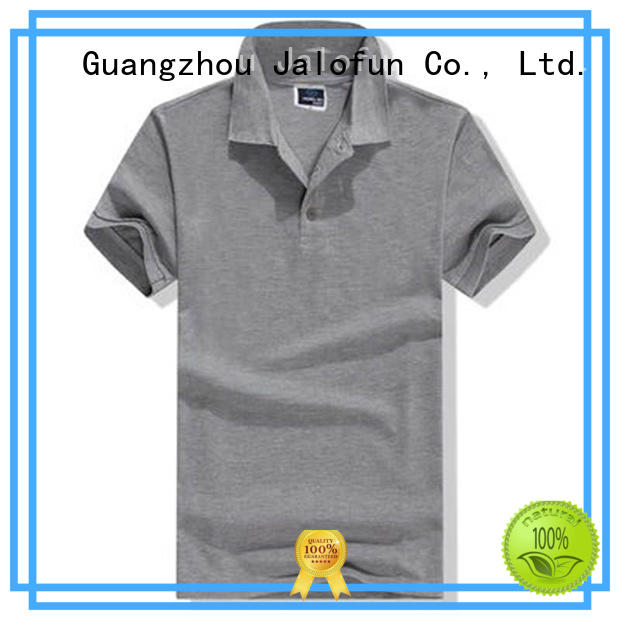 Jalofun quality custom polo shirt factory for dating