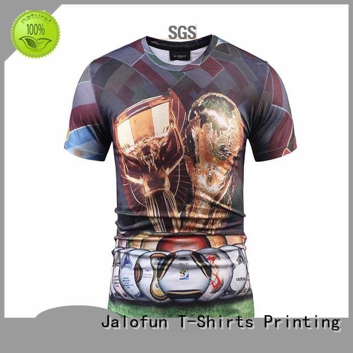 good cutting customized shirts logo manufacturers