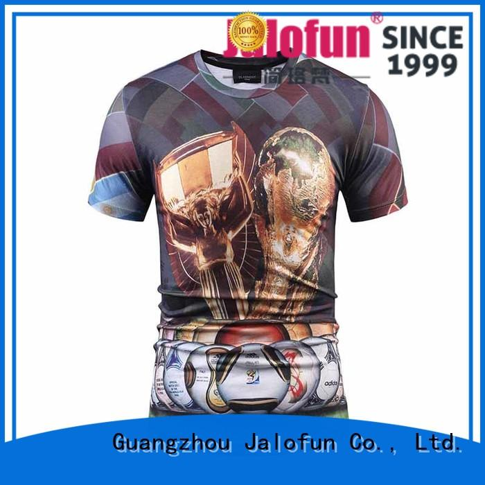 Jalofun promotion direct to garment printing t shirt supply for travel