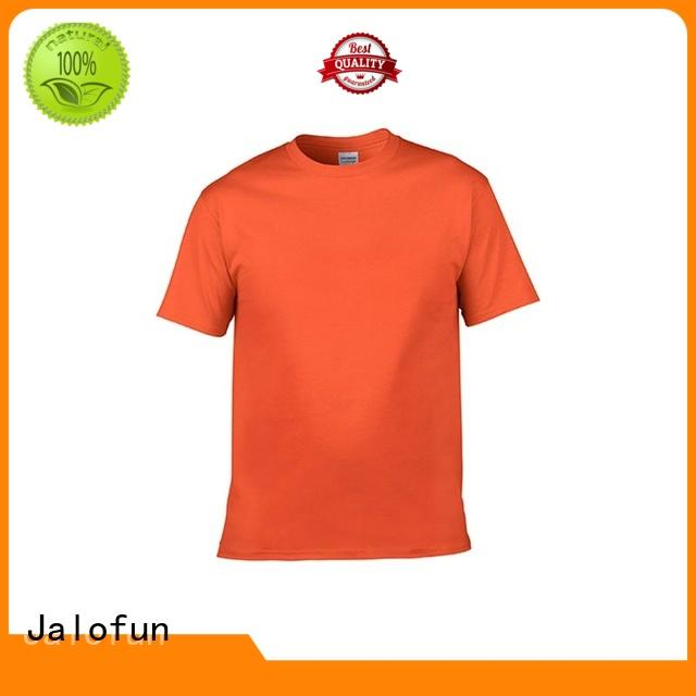 Jalofun printing custom screen print shirts company for sport