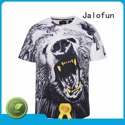 Jalofun O neck customized shirts company for travel