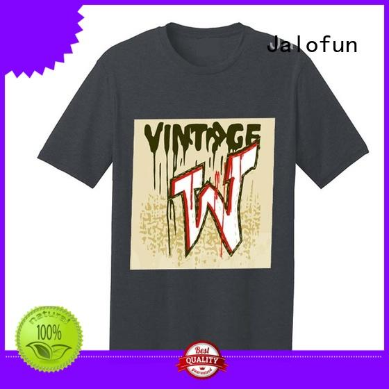 Jalofun tshirt direct to garment printing t shirt for business for going to school