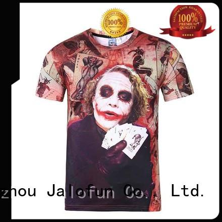 Jalofun stylish design custom screen print shirts factory for dating
