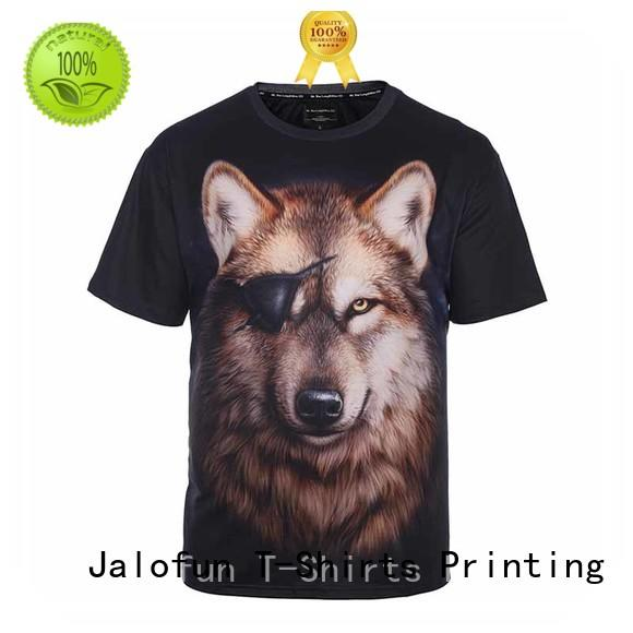 professional silk screen printing t shirt by Chinese manufaturer for travel Jalofun
