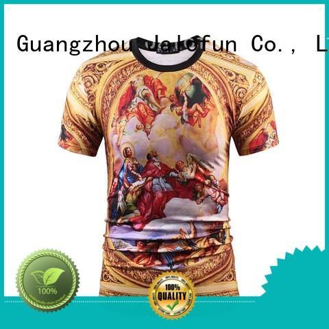 tshirts direct to garment printing t shirt by Chinese manufaturer for travel Jalofun