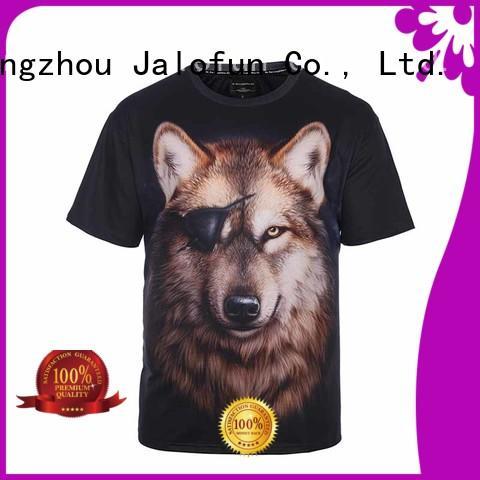 Jalofun print bespoke t shirt printing factory for sport