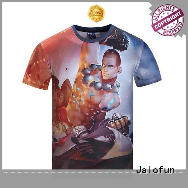 Jalofun new arrival bespoke t shirts factory for man