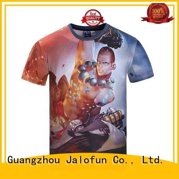 Jalofun professional custom tee shirt printing for sale for spring