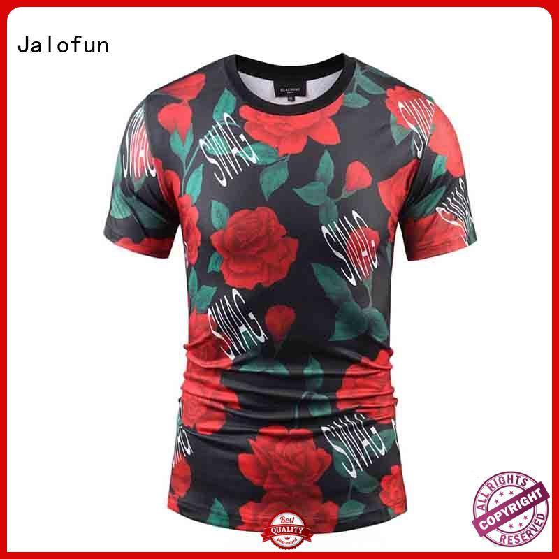 Jalofun charming custom logo shirts company for travel
