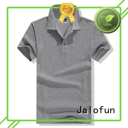 Jalofun mens pique polo shirt factory for sport